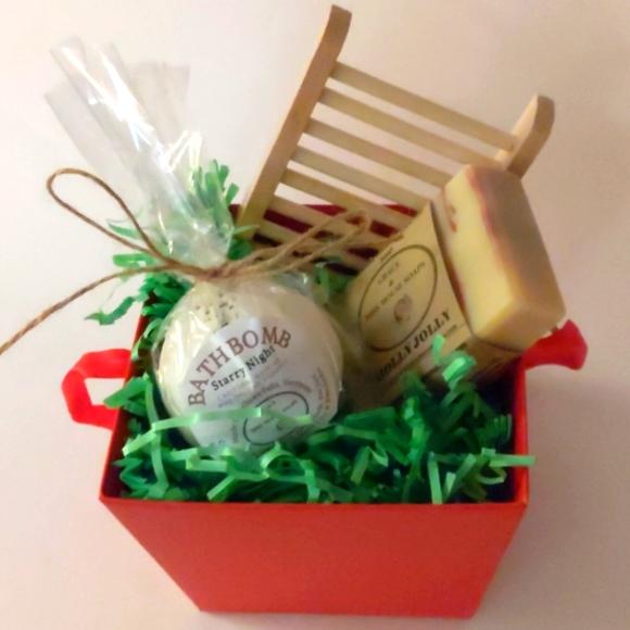 Handmade in Vermont Premium Bath Gift Box